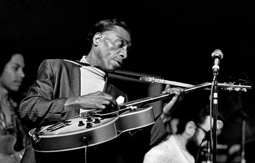 T-Bone Walker had a unique playing style