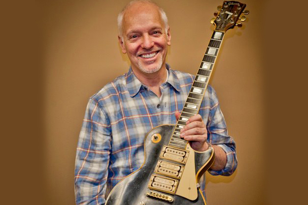 Peter Frampton reunited with his Gibson Les Paul Custom