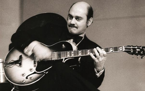 Joe Pass with Gibson ES-175