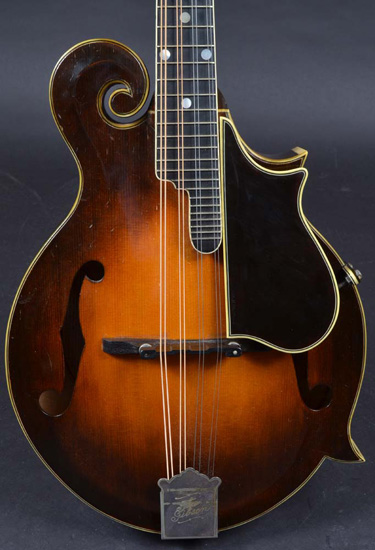 Gibson F-5, signed by Lloyd Loar on Feb. 8, 1923
