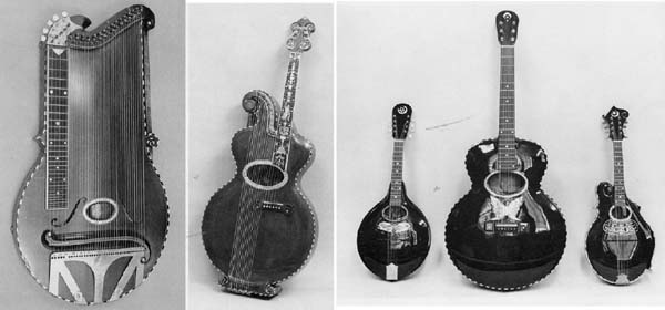 Some Orville Gibson instruments