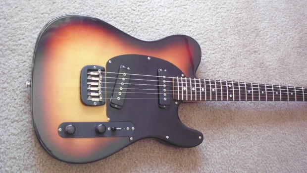 1986 G&L ASAT/Broadcaster from the first weeks production