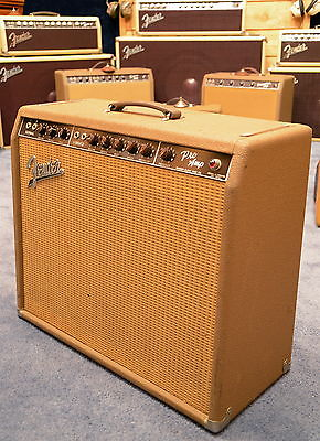 1961 Fender Pro Brownface Amp with Vibrato
