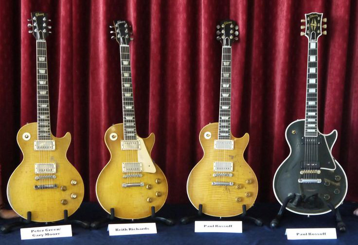 Gibson Signature Les Paul guitars