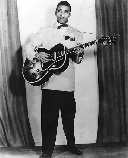 T-Bone Walker with Gibson ES-250