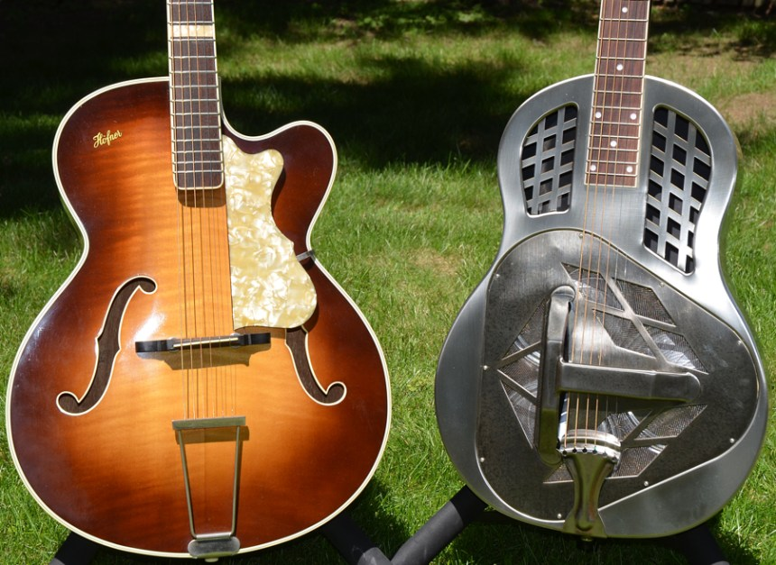 1960s Hohner Archtop and Republic Tricone