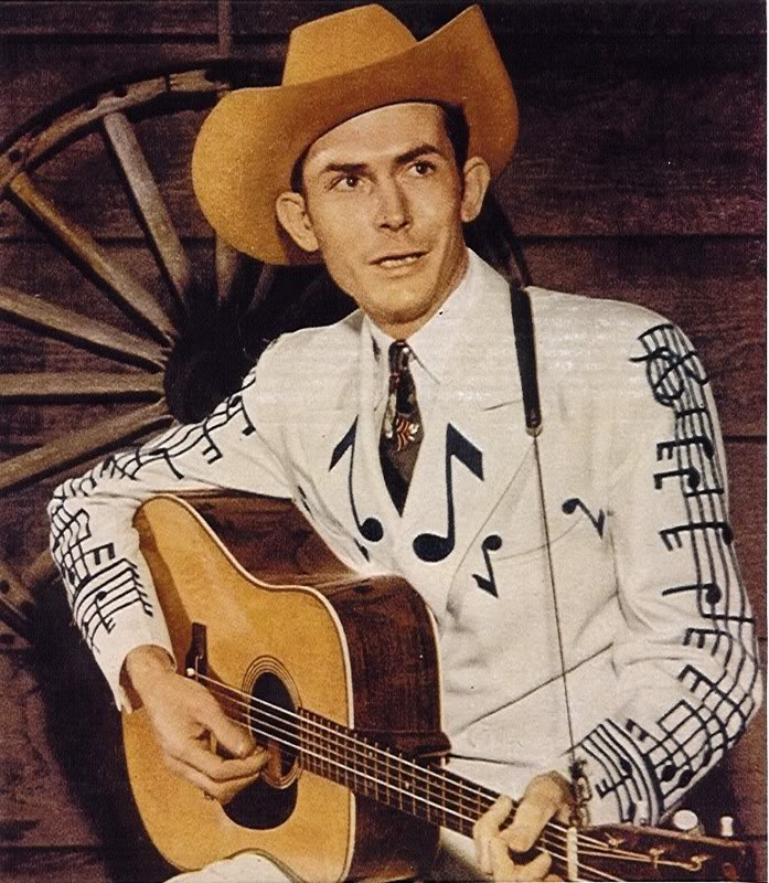 Hank Williams with his Iconic Martin D-28