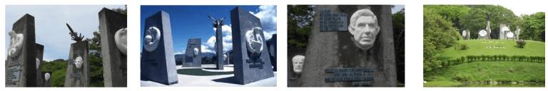 Costa Rica Peace Monuments