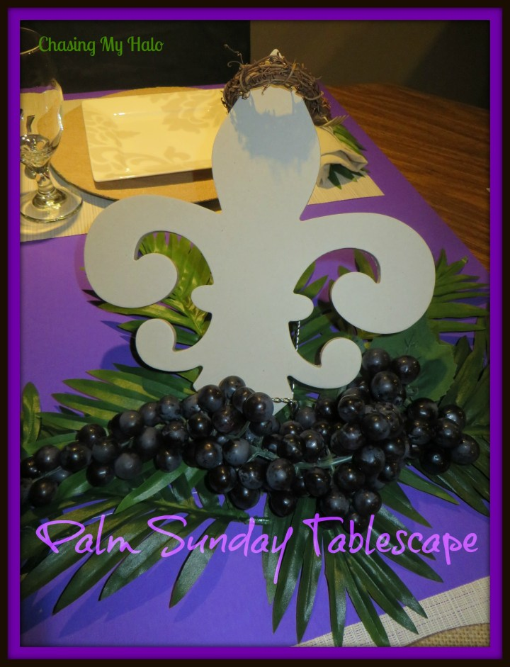 Palm Sunday Tablescape