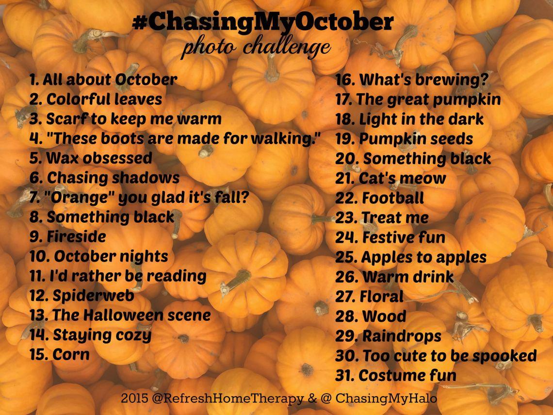 #ChasingMyOctober IG Challenge