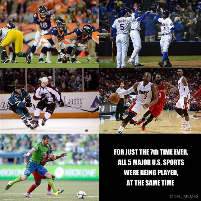 5 sports shot