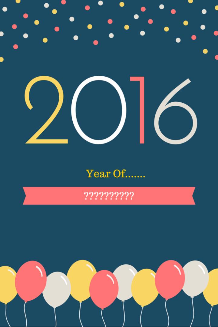2016 Word Reveal