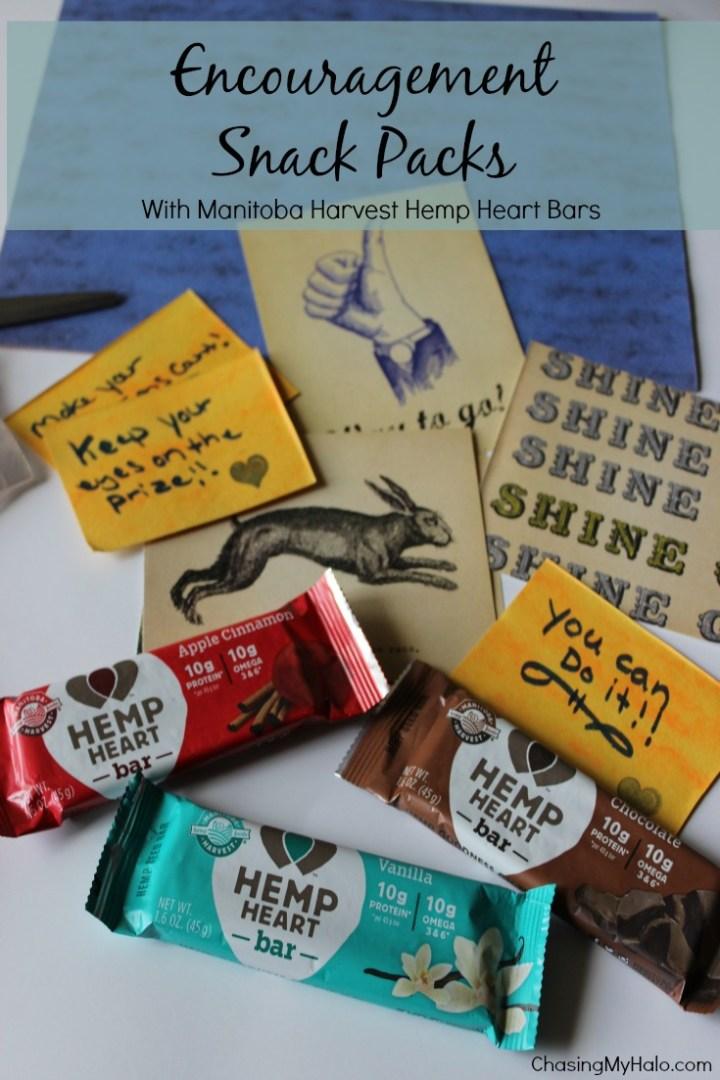 Encouragement Snack Packs and Manitoba Harvest Hemp Heart Bar Review