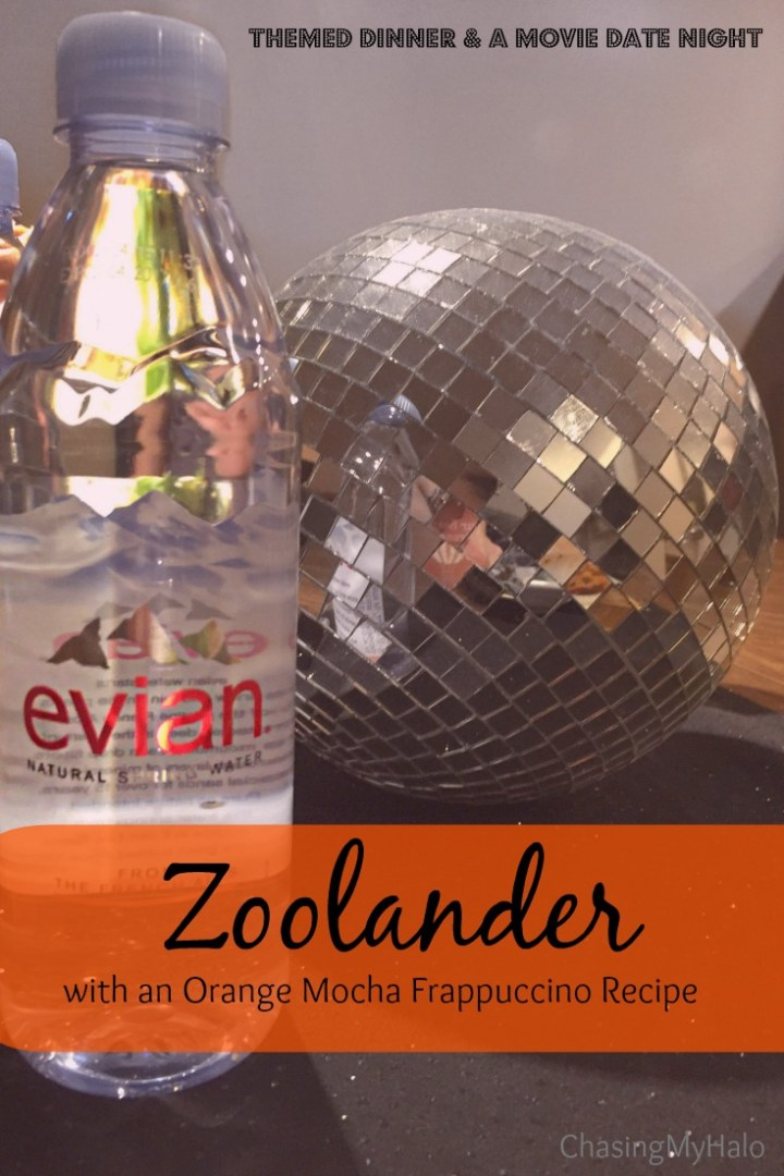 Zoolander Themed Dinner and a Movie Date Night with an Orange Mocha Frappuccino Recipe