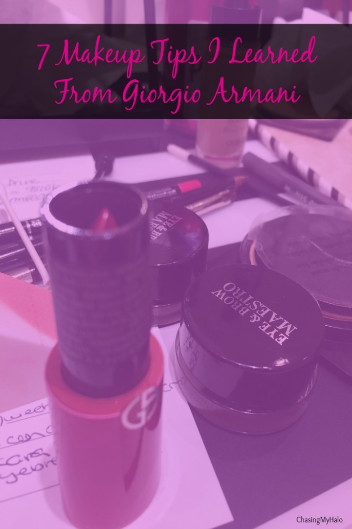 7 Makeup Tips I Learned From Giorgio Armani