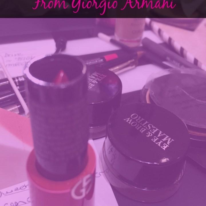 7 Makeup Tips I Learned From Giorgio Armani