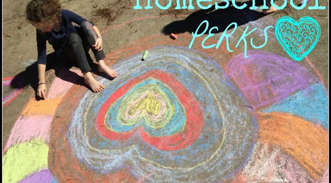 4 Perks of Homeschooling NOW