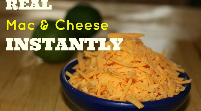 Real Mac & Cheese in the Instant Pot