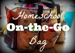 The Homeschool on-the-go Bag