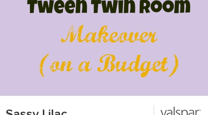 Budget Tween Room Makeover: Part 2