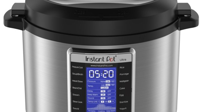Deal Alert! Instant Pot Instant Pot Ultra 6 Qt 10-in-1 $99.96