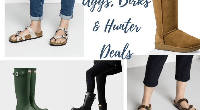 Shoe Deal Round-up: Uggs, Birks, and Hunter Boot crazy markdowns!