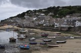 View of the town of Mousehole