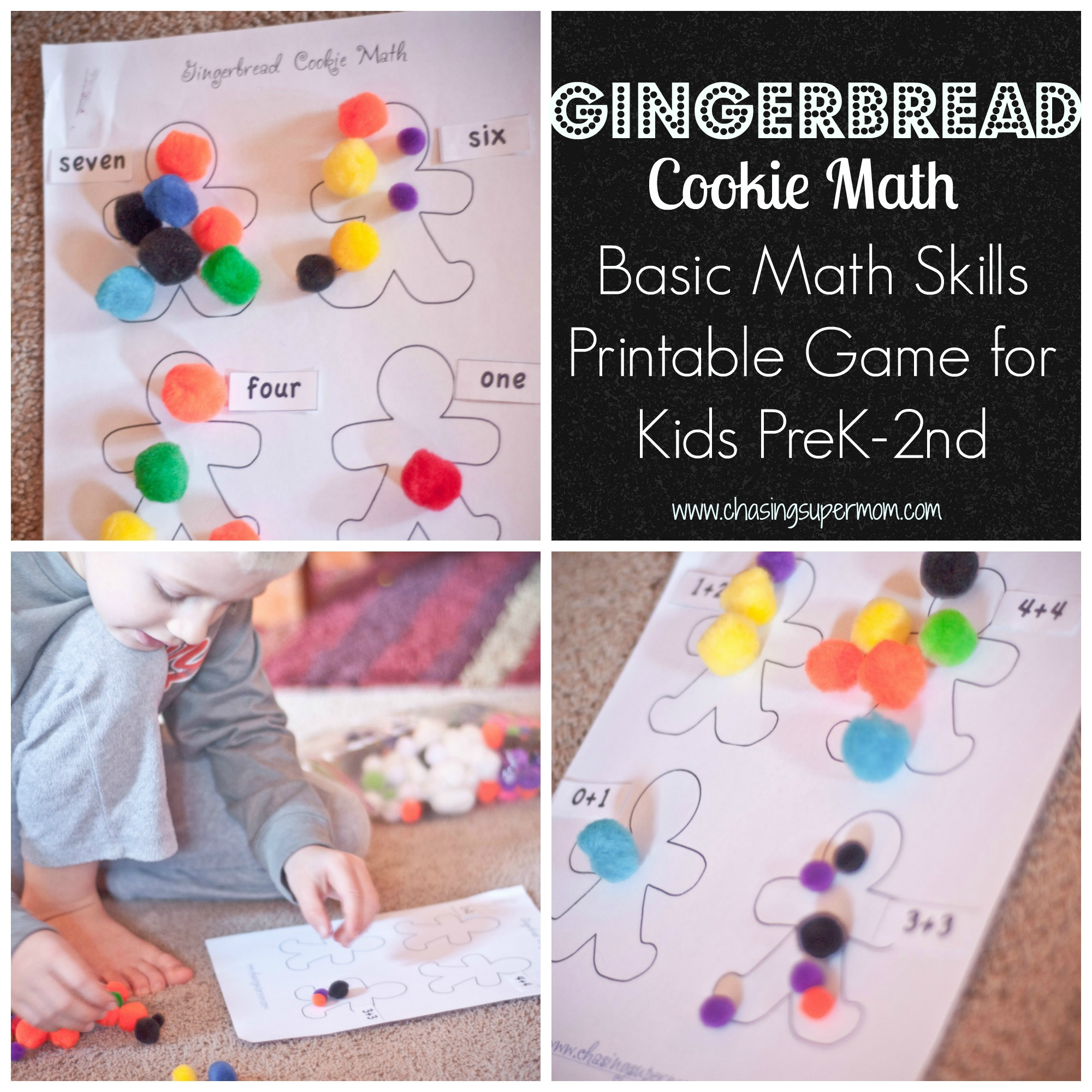 Gingerbread Cookie Math