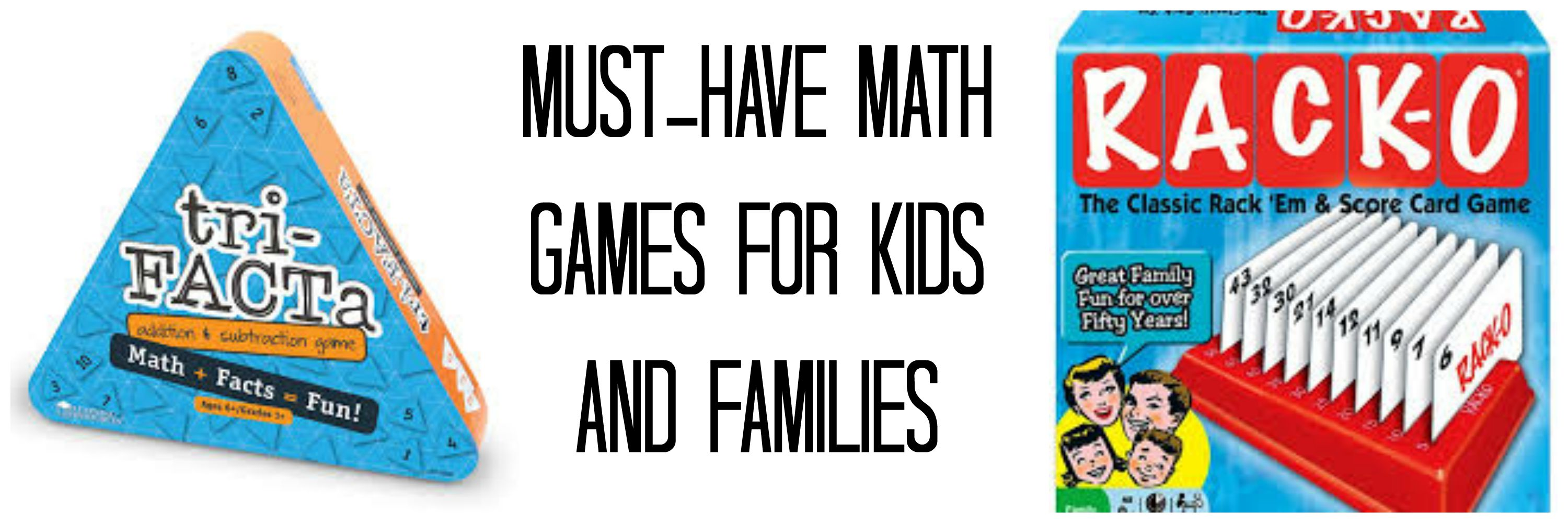 Must Have Math Games For Kids And Families
