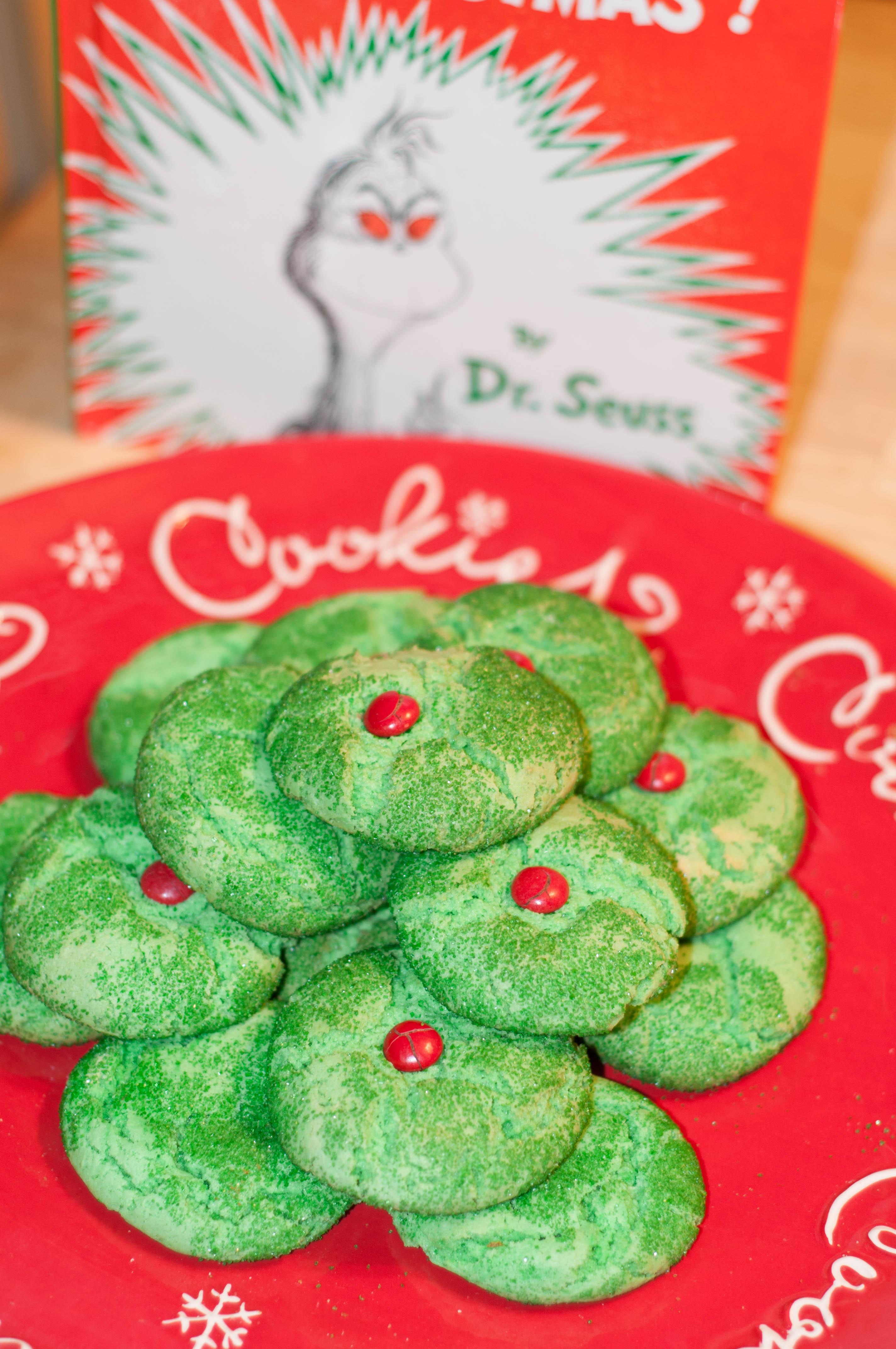 Grinch Cookies Amp Bonus Grinch Activities
