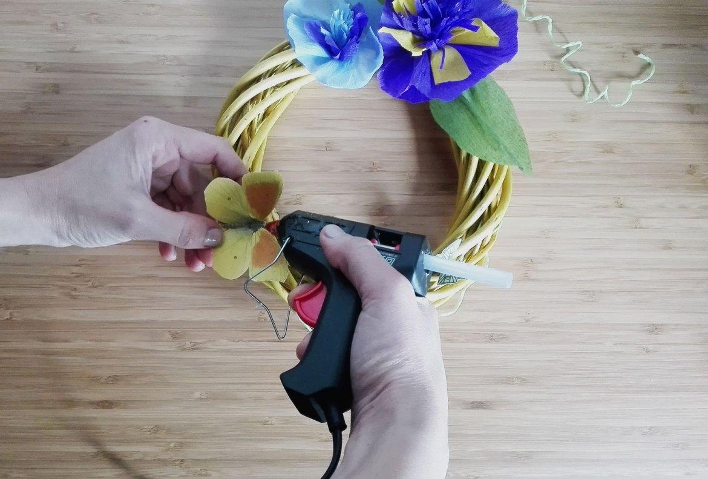 tutorial ghirlanda di primavera
