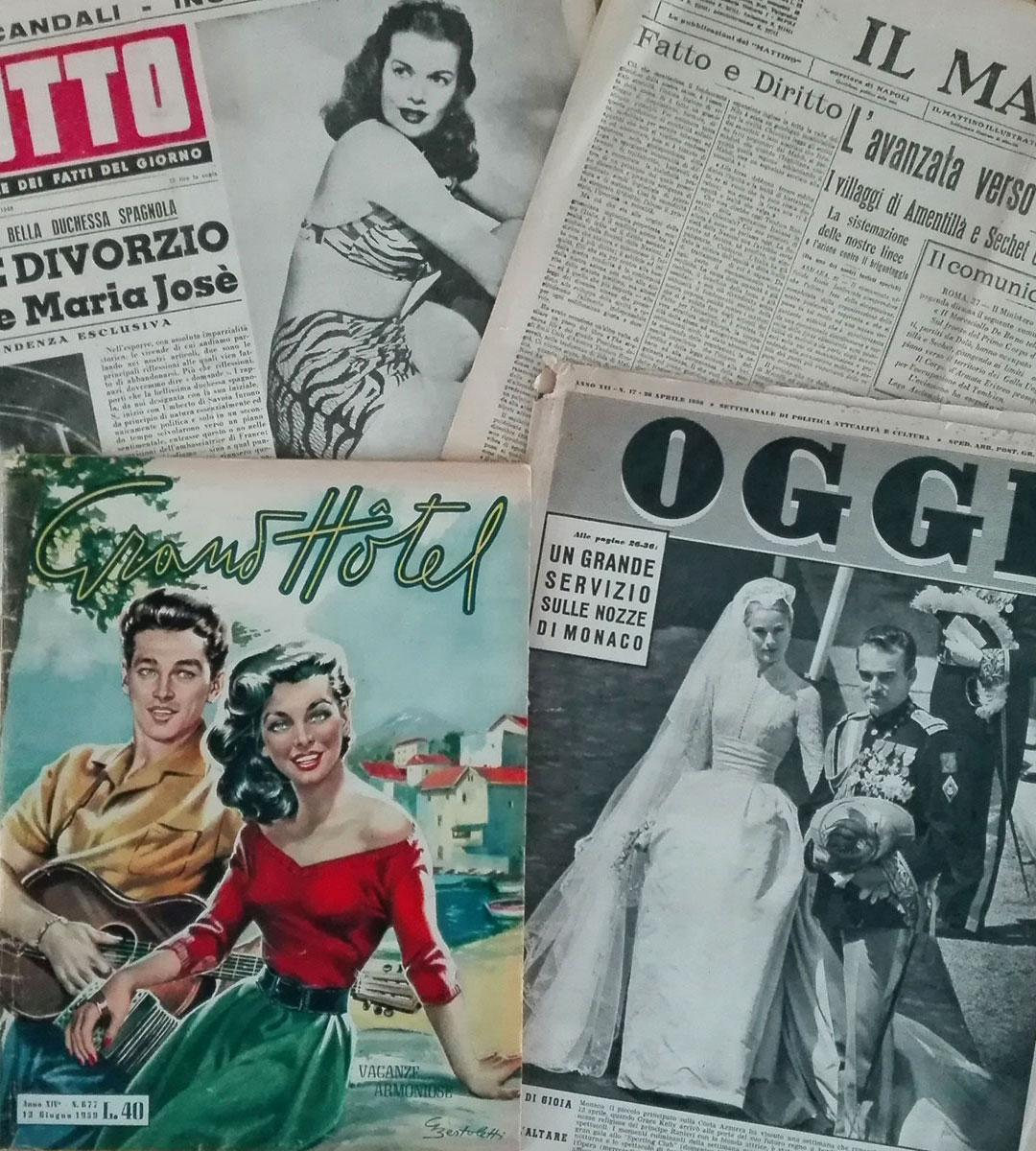 copertine anni cinquanta