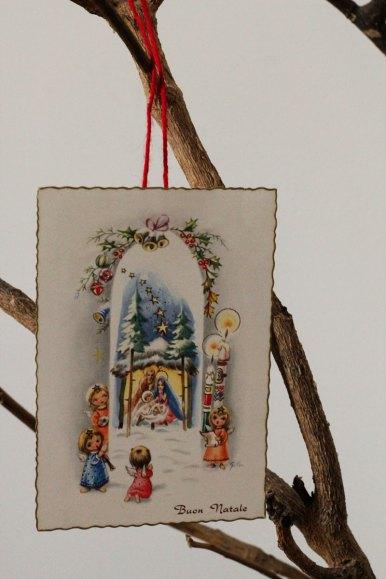 addobbi natalizi stile vintage