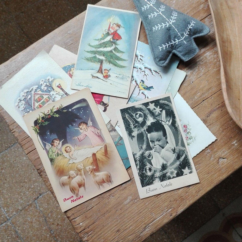 cartoline di natale vintage