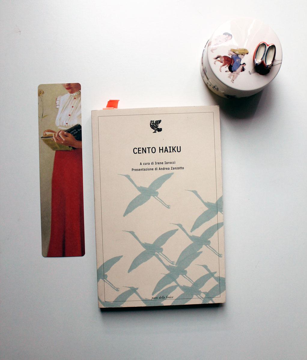 copertina libro cento haiku