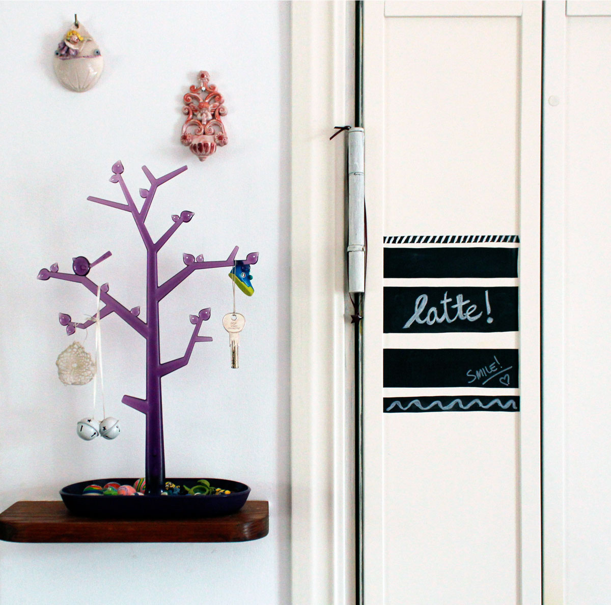 dettaglio porta ingresso