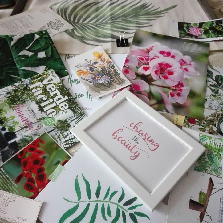 ritagli dalle riviste di giardinaggio