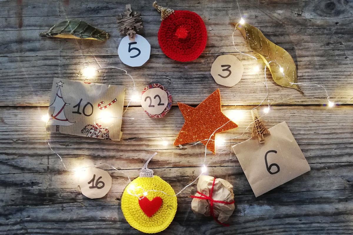 decorazioni calendario avvento natale
