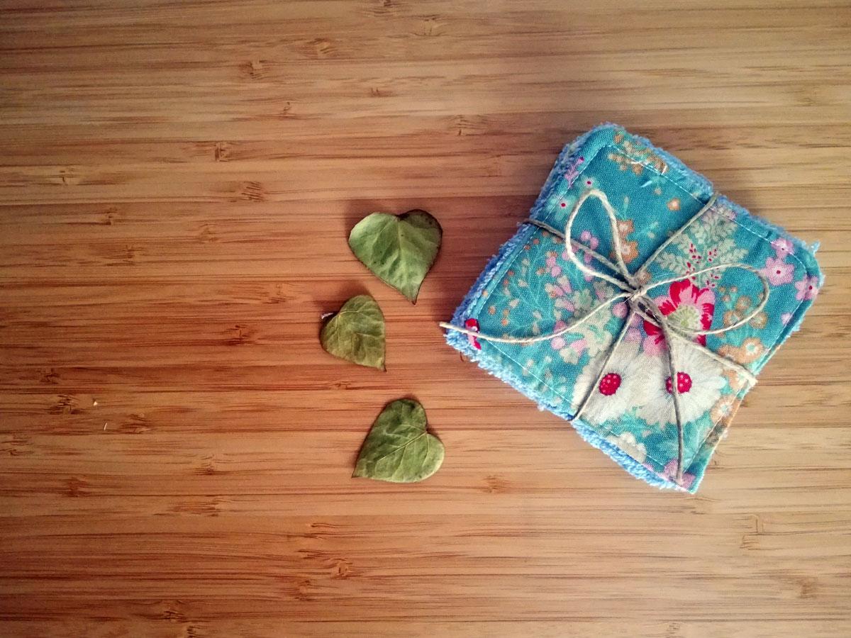 salviette struccanti ecologiche in cotone