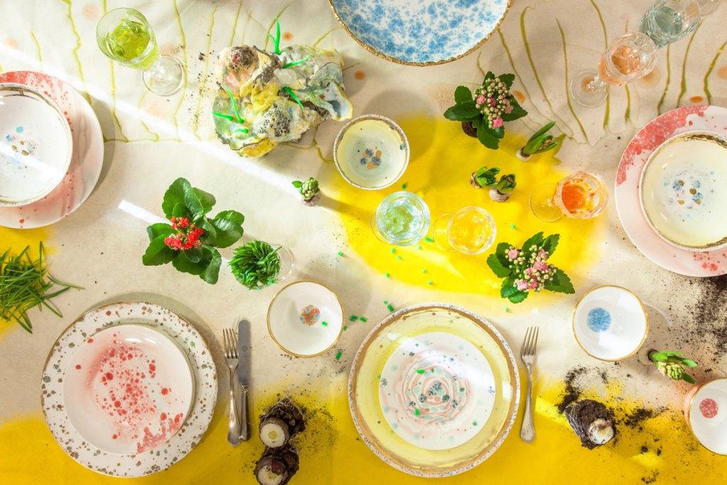 tavola primavera coralla maiuri