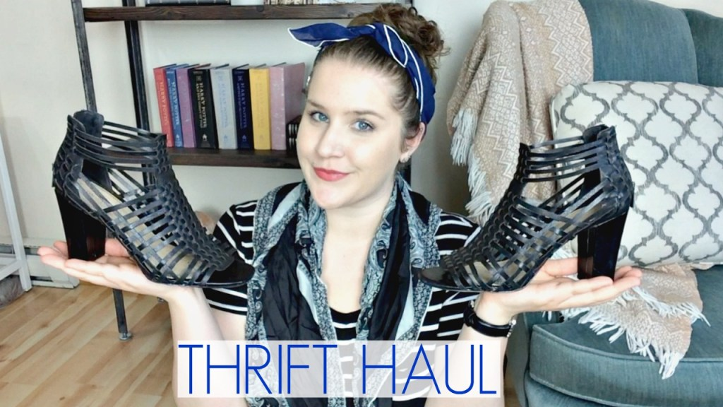 Thrift Haul: Clothes, Shoes, & Costume Pieces
