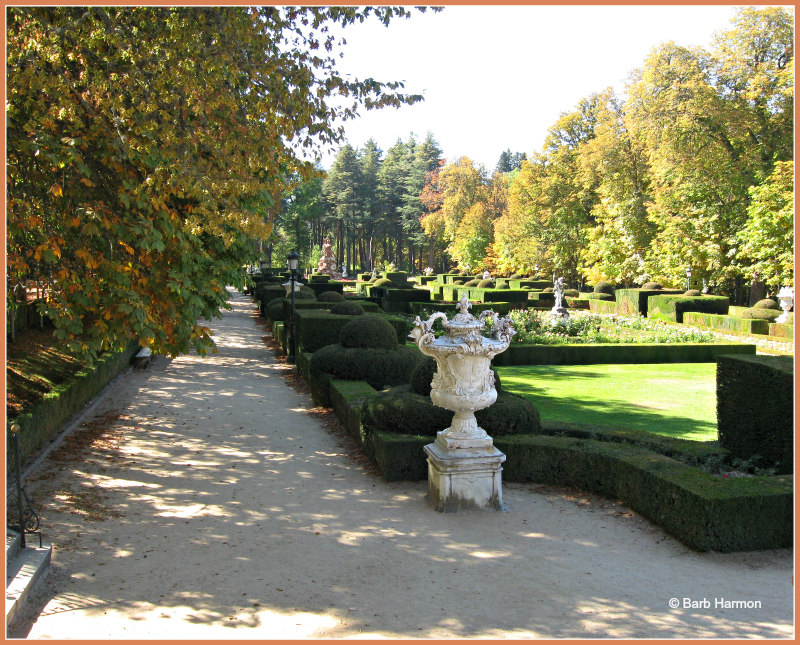 Grounds of La Granja