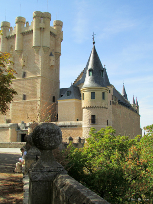 The Alcazar in Segovia, Spain