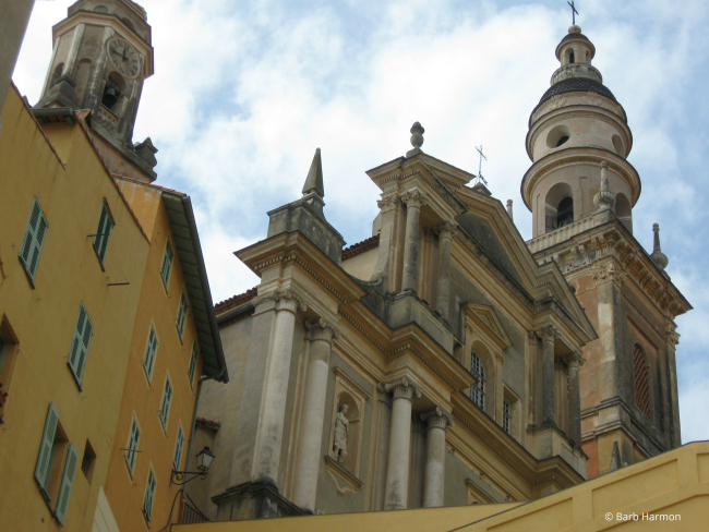 Basilica of Saint-Michel-Archange in Menton france