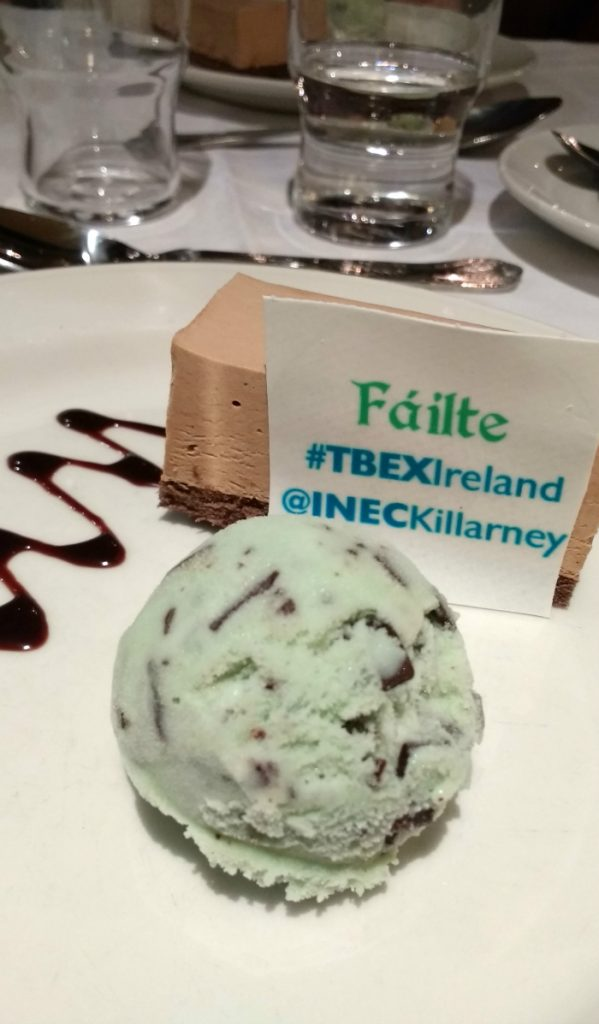 Dessert at tbex, Ireland