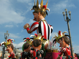 Many Carnaval Kings in France