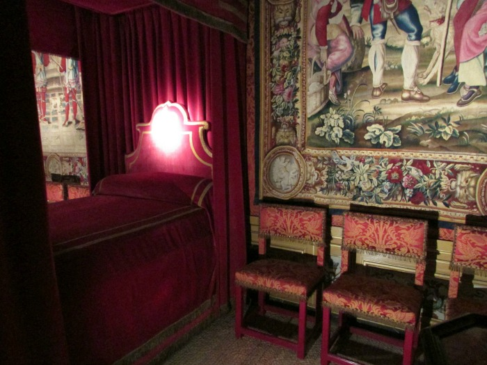 Bedroom of Nicolas Fouquet