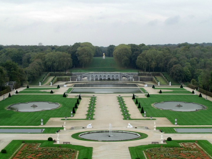 The first French formal garden