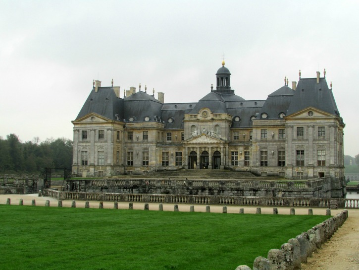 The North front of the chateau