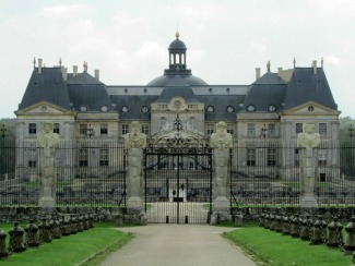 The Front of Vaux-le-Vicomte